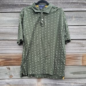 Daniel Cremieux Green Short Sleeve Polo Shirt XL
